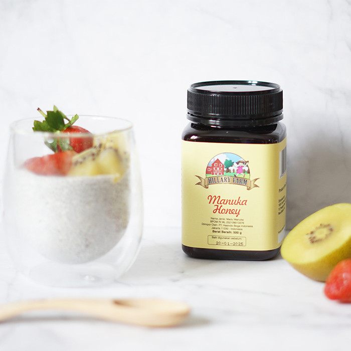 FRUITTY CHIA SEED PUDDING